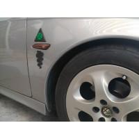 Alfa Romeo Quadrifoglio Cloverleaf Badge