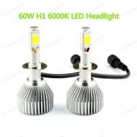 ไฟหน้ารถยนต์ H1 LED 60W 6000LM 6000K 1ชุด