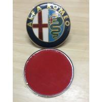 Front Rear Badge Emblem Alfa Romeo 147 156 159 74mm
