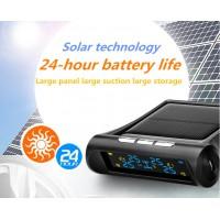 Car Solar Wireless TPMS Tyre Tire Pressure Monitor System+4 External Sensors