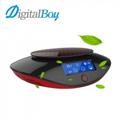 Digitalboy 12V Car Air Purifier Car Aromatherapy Oxygen Bar Anion Air Filter