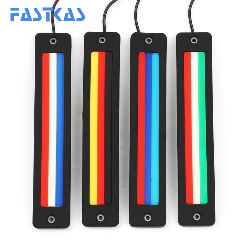 COB Flexible Car LED DRL Flag